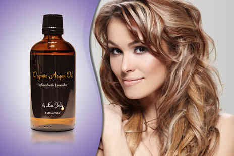 Les Joli - 100ml bottle of argan oil with lavender - Save 52%