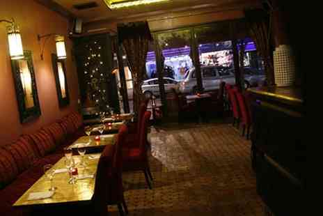 Med Mezze Moroccan - Meal with Dessert and Wine London - Save 60%