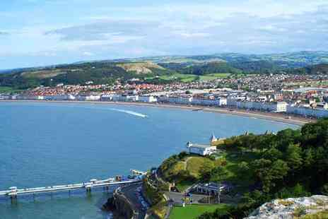Evans Hotel - Two Nights Llandudno Wales with Cream Tea - Save 63%