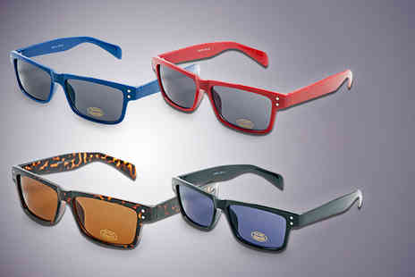 The Optic Shop - Visage 177 designer sunglasses in tortoise, red, black or blue - Save 75%