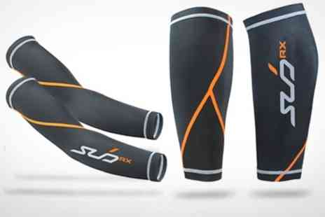 Sub Sports - Compression Baselayer Arm or Calf Guards - Save 37%