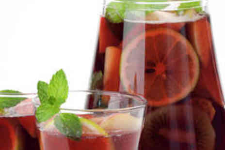 Flavas Lounge Bar and Grill - Jug of Pimms and Sharing Platter for Two - Save 63%