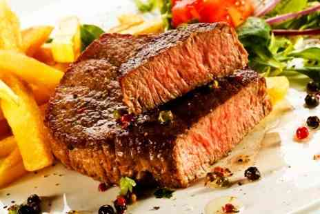 The George - Two Course Steak Meal For Two - Save 50%