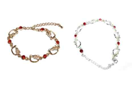 Catwalk Glamour - Hello Kitty Charm Bracelet - Save 60%