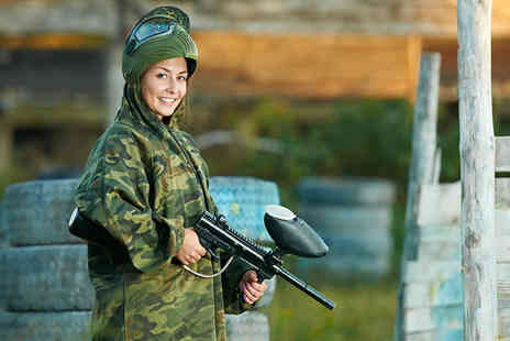 Horizon Paintball - Day paintballing for up to 5 inc. light lunch & 50 balls each - Save 93%