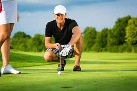 Tilgate Forest Golf Centre - Day of Golf For Two - Save 80%