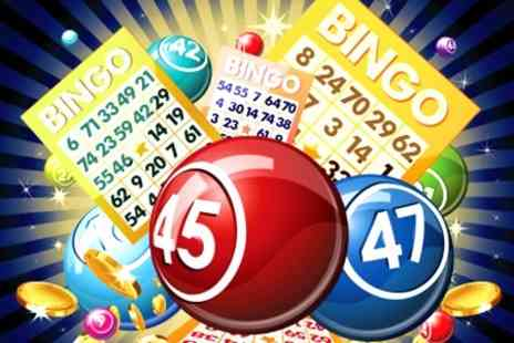 Beacon Bingo - Meal, Drink And Thirteen Bingo Games For Two - Save 33%