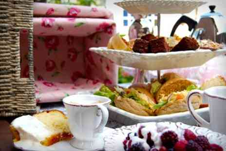 Cafe Dijon - Afternoon Tea For Two - Save 50%