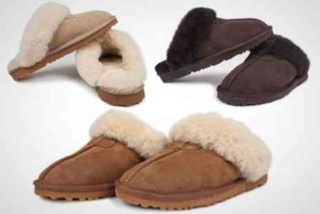 Snow Paw Boots - Ladies Sheepskin Slippers - Save 67%