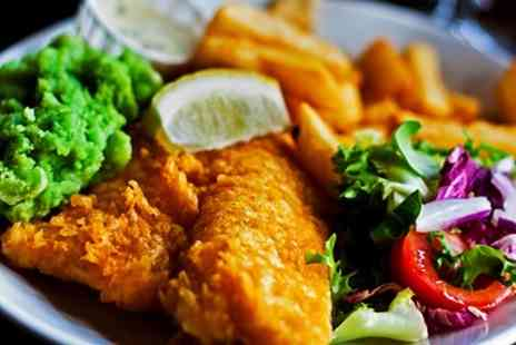 The Hamilton Russell Arms - Fish and Chips For Two - Save 55%