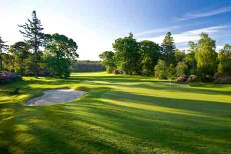 Slaley Hall Spa - 18 Holes of Golf Plus 100 Range Balls - Save 73%