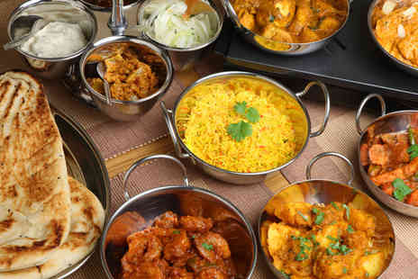 Masala Twist - An Indian tapas meal for two people including rice or naan & glass of wine - Save 51%