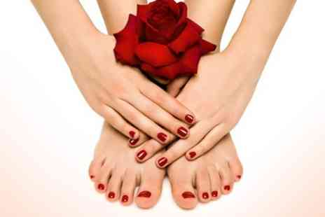 Mai Beauty @ Toni & Guy Sunderland - Shellac Manicure or Pedicure - Save 60%