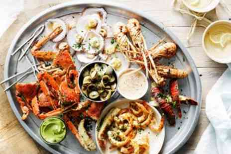 The Old Passage - Top Notch Seafood Feast & Bubbly for 2 - Save 57%