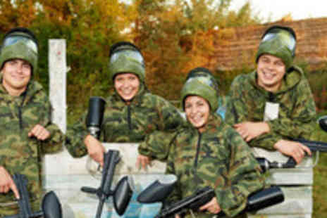 Nationwide Paintball - Days paintball experience for four people, including lunch - Save 89%