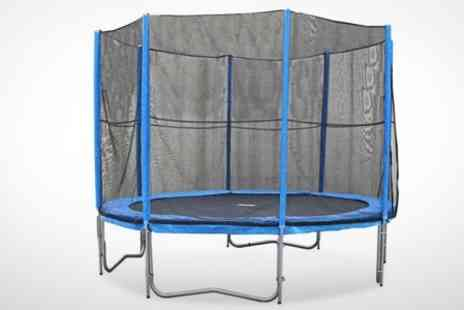 Hillman - 8ft Trampoline With Safety Enclosure - Save 50%
