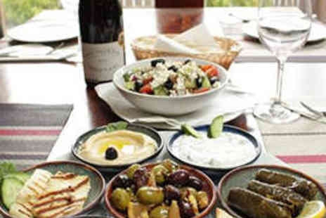 Damas The Art of Meze - Two Course Greek Meal with Side and Liquor Each - Save 50%