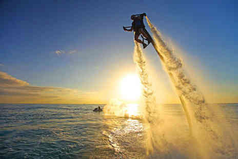 Jetlev Flyer - One hour JetLev flying experience - Save 34%