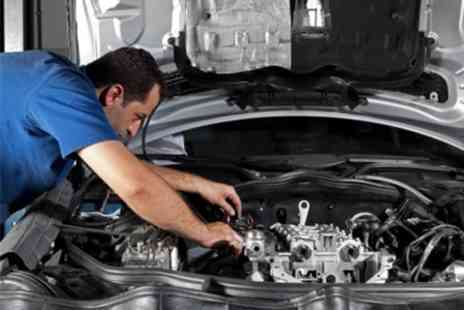 Fox Garage Services - MOT Test Plus Service With Oil Change and Air Con Clean - Save 41%