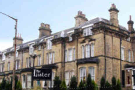Lister Hotel - Boutique Yorkshire break - Save 60%