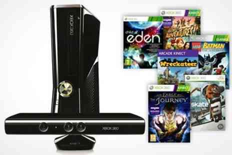Box.co.uk - Xbox 360 250GB Kinect with 6 Games - Save 48%