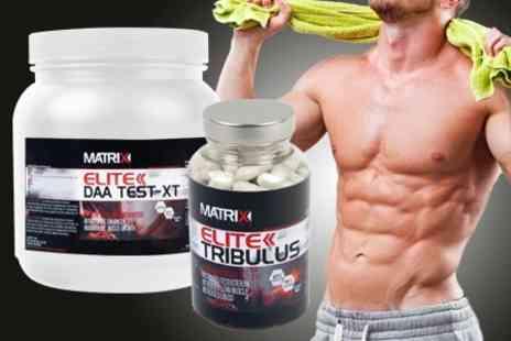 Matrix - Elite Testosterone Supplements - Save 60%