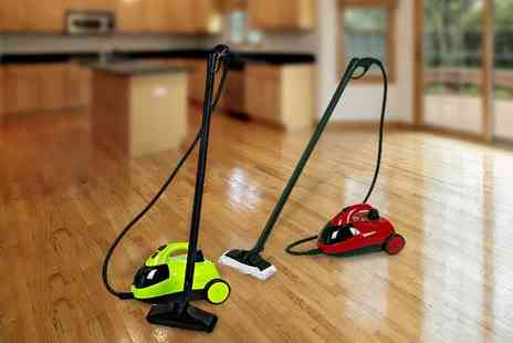 Guaranteed4less.com - Green multi purpose Grimebuster steam cleaner - Save 50%