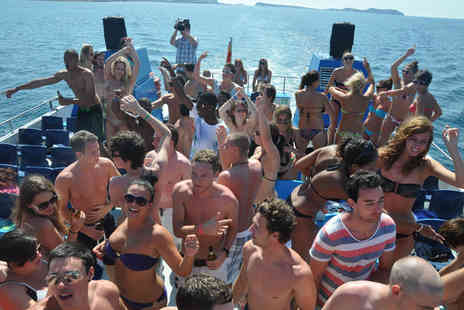 Escape Ibiza - Four nights in Ibiza including boat party, pool party, bar crawl & club entry - Save 42%