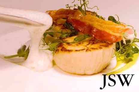JSW - Michelin Star Seven Course Tasting Menu For Two - Save 50%
