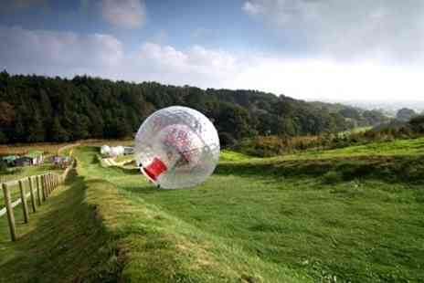 Zorbing South - One Hydro or Harnessed Dual Rides For Two People - Save 51%