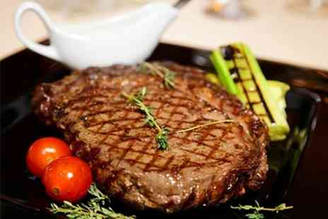 Classico - 10oz Rib Eye Steak Dinner For Two - Save 60%