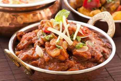 Sherwoods Restaurant - Two Course Indian Meal For Two With Side and Coffee - Save 40%
