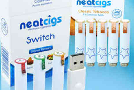 Neatcigs - Electronic Cigarette Starter Kit and Refills - Save 67%