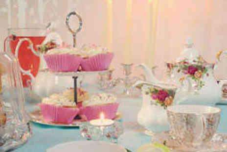 Violets Attic Pampering Parlour - Afternoon Tea with Bubbly and Treatment - Save 50%