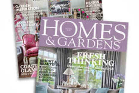 Homes & Gardens - 12 Issue Subscription to Homes & Gardens Magazine - Save 52%