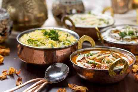 Bollywood Masala - Two Course Indian Meal For Two With Wine - Save 60%