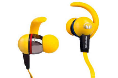 The Electric Incentive Company - Monster iSport Immersion In Ear Headphones - Save 58%