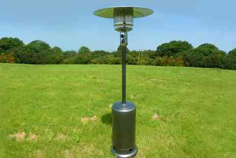 Garden Games - Gas Patio Heater and Cover - Save 20%