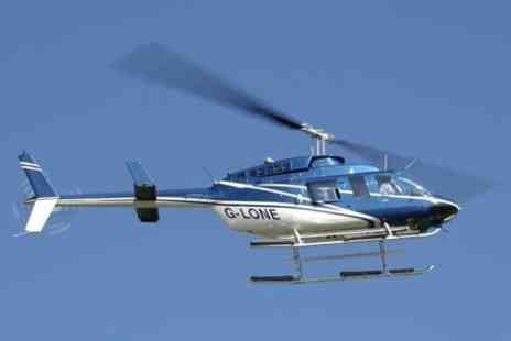 Central Helicopters - High Speed Helicopter Ride For One - Save 50%