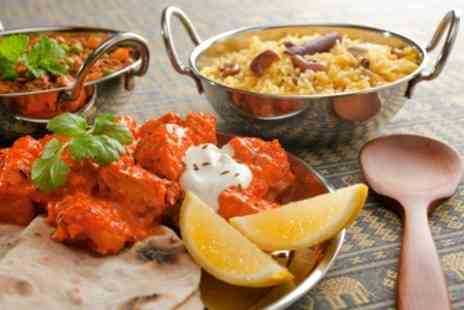 Spice House - Two Course Indian Meal For Two With Glass of Wine - Save 61%