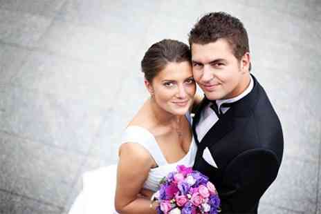 Amplified - Wedding Photography With Prints and Bridal Make Up - Save 60%