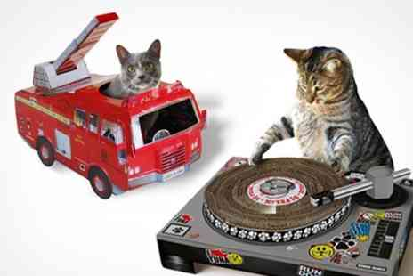 Find Me a Gift - Cat Toys Playhouse or DJ Scratching Deck - Save 50%
