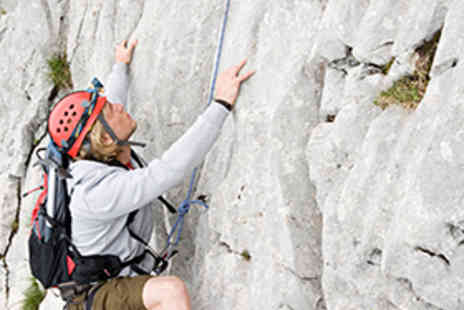 Cheddar Climbing Caving - Two Hour Outdoor Rock Climbing Experience - Save 68%