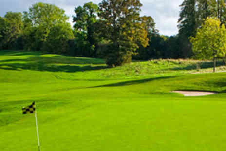 Mottram Hall Golf Club - 18 Holes of Golf for Two - Save 72%