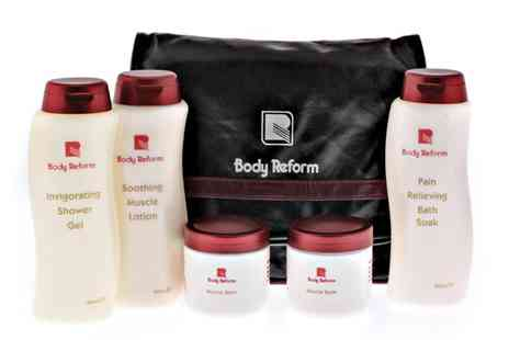 Gellure/Body Reform - Super Sports Bath Gift Pack - Save 67%