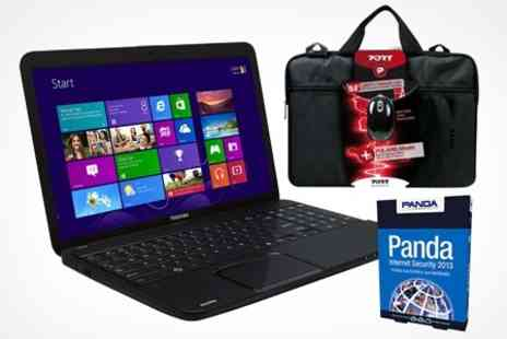 Laptop Outlet - 15.6 Toshiba Satellite Laptop with 500GB Hard Drive, 4GB Ram and Windows 8 - Save 28%