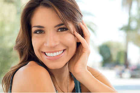 White & Beauty - Three 15 minute laser teeth whitening treatments - Save 54%