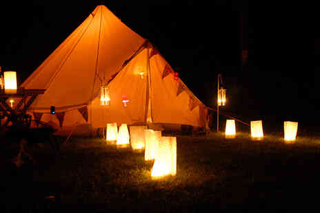 British Bells - Two nights luxury glamping near Colchester for up to 4 people including cooking set - Save 57%