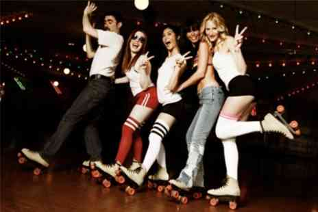 GYSO Roller Disco - Roller Disco For Two or Family of Four - Save 58%