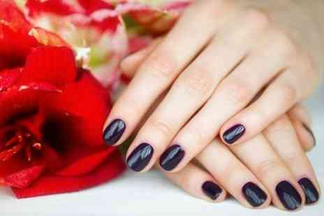 Elisha Hair and Beauty - Shellac or OPI Manicure and Pedicure - Save 50%
